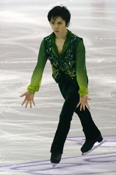Shoma Uno was the junior record holder for the short program score.