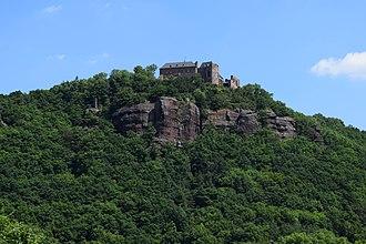 Nideggen - The castle high above the Rur valley (2016)