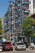 2016 Rangun, Ulica nr 47, Budynki mieszkalne (02).jpg
