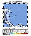 2018-11-25 Mountain, Colombia M6 earthquake shakemap (USGS).jpg