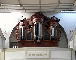 20181030380DR Dittersbach (Dürrröhrsdorf-Dittersbach) Kirche Orgel.jpg
