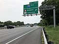 2019-06-05 11 24 54 View south along Interstate 95 at Exit 47B-A (Interstate 195 EAST, BWI Thurgood Marshall Airport, Maryland State Route 166, Catonsville) in Arbutus, Baltimore County, Maryland.jpg