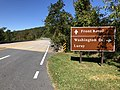 2019-10-11 11 43 44 View north along Virginia State Route 48 (Skyline Drive) at the Thornton Gap interchange with U.S. Route 211 (Lee Highway) within Shenandoah National Park in Page County, Virginia.jpg
