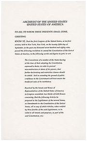 美国宪法第二十七修正案