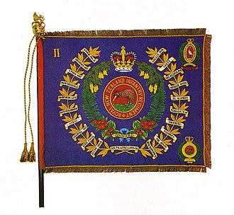 Canterbury, and Nelson-Marlborough and West Coast Regiment - Regimental Colour