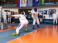 2nd Leonidas Pirgos Fencing Tournament. The counter-attack of Konstantinos Nikolitsas.jpg
