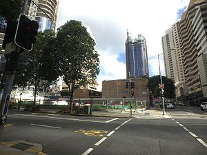 30 Albert Street, Brisbane - Building site in May 2016