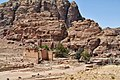 30 Petra Monastery Trail - Near the Restaurant in the Center of Petra - panoramio.jpg