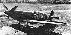 RAF Atcham - Spitfire V of the 309th Fighter Squadron