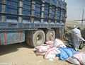 3rd Afghan Border Police seize 35,000 pounds of ammonium chloride 120509-A-LD640-005.jpg