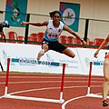 400m Hurdles Arpitha M Of India In Action (cropped).jpg