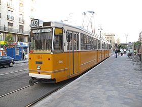 Image illustrative de l'article Ligne 49 du tramway de Budapest