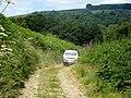 4x4 on the Wye Valley Walk - geograph.org.uk - 903191.jpg