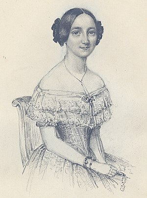 Wilhelmina Fundin - Wilhelmina Fundin (1842), from a sketch by Maria Röhl
