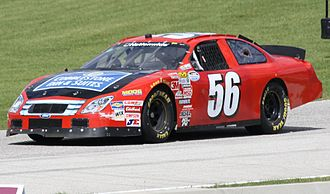 Joey Scarallo - Nationwide car at 2010 Road America race