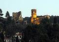 56 Castell de Gelida i església de Sant Pere del Castell.JPG