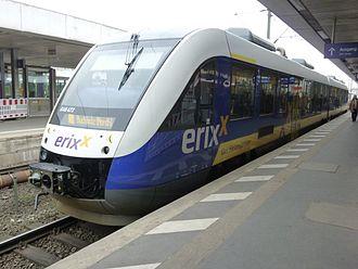 Erixx - An Erixx train