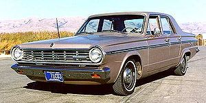 Chrysler Canada - The 1965 Canadian-market Valiant Custom 200 was a rebadged U.S. Dodge Dart.