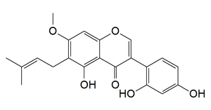 7-O-Methylluteone - Image: 7 O Methylluteone
