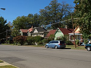 Old Town Historic District (Huntsville, Alabama) - 700 block of Holmes Avenue