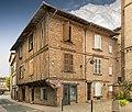 81 - Rabastens - Maison de la place Mont-del-Pa XVIe siécle - MériméePA00095624.jpg