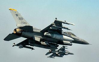 8th Operations Group - 80th Fighter Squadron F-16CJ Block 40D Fighting Falcon 88-0543