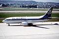 90ay - Olympic Airways Boeing 737-33R; SX-BLA@ZRH;21.03.2000 (5016183103).jpg