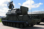 9A331 Tor-M1 combat vehicle at Engineering Technologies 2012.jpg