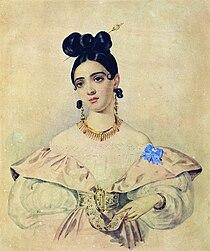 A.D. Abamelik-Lazareva by A.Brullov (1835-8, N.Novgorod).jpg