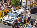 ADAC Rallye Deutschland 2013 - Fahrerpräsentation auf dem Roncalliplatz-4659.jpg