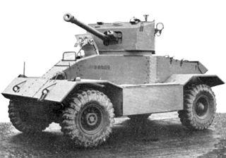 AEC Armoured Car weapon
