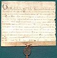 AGAD Grzegorz IX zatwierdza ugodę pomiędzy konwentem w Sulejowie a scholastykiem kapituły łęczyckiej.jpg