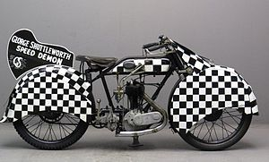 No Limit (1935 film) - AJS H5 Shuttleworth Snap Replica