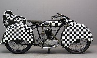 No Limit (1935 film) - AJS H5 Shuttleworth Snap Replica