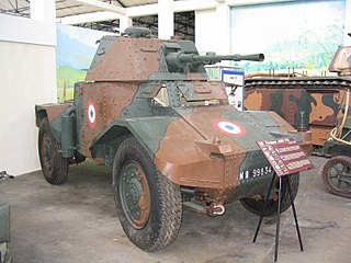 Panhard 178 French armored car