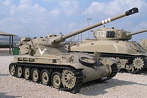 Ein israelischer AMX 13 im Yad la-Shiryon Museum