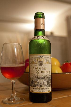 Palette AOC - An AOC Palette wine from Château Simone.