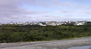 Anchor Point, Newfoundland and Labrador - Anchor Point's south side