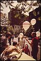 AT A BLOCK PARTY ON EAST 35TH STREET BETWEEN LEXINGTON AND MADISON AVENUE, GAY BALLOONS ADDED TO THE GENERAL AIR OF... - NARA - 551689.jpg