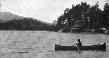 A Camp in the Adirondacks, Book News Monthly, October 1905, image page 72.jpg