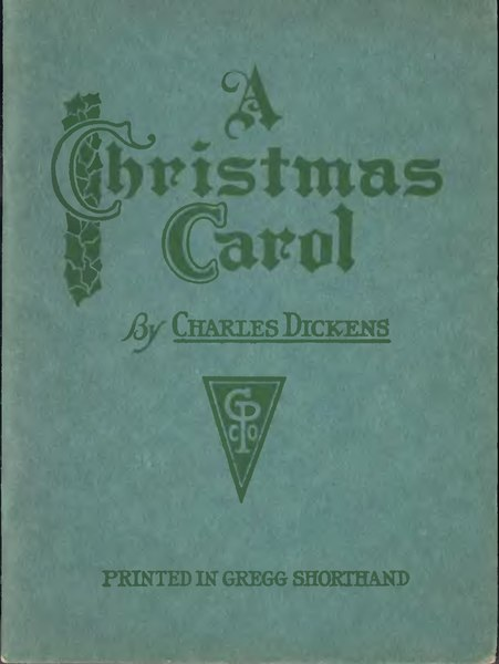 File:A Christmas Carol - 1st Ed - Printed in Gregg Shorthand