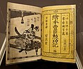 A Picture Book of Toyotomi's Meritorious Deeds, by Utagawa Kuniyoshi, 1858 AD, woodblock print with a few pages in color - Portland Art Museum - Portland, Oregon - DSC08663.jpg