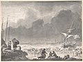 A Ship Wrecked on a Shore on a Stormy Night, with Survivors Salvaging Their Goods MET DP800093.jpg