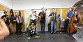 A band in the Chatalet station 2, Paris 2010.jpg