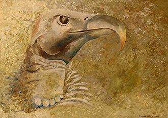 Dvora Bochman - Image: A painting of bird portrait in profile