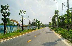 A road in Phuc Loi Ward, Long Bien District.jpg