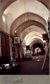 A section of the Bazaar of Kashan, Iran, 2001.png