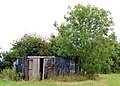 A shed in a field, Collingham Lane - geograph.org.uk - 1402799.jpg
