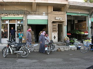 A street view of manbij city - panoramio.jpg