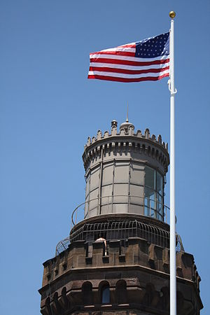 Navesink Twin Lights - A tower of the Twin Lights on the Navesink